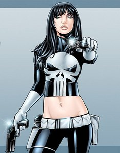 Rule 63 of The punisher. :fuckyeah: