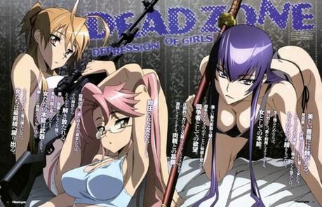 Highschool of the dead girls. :P