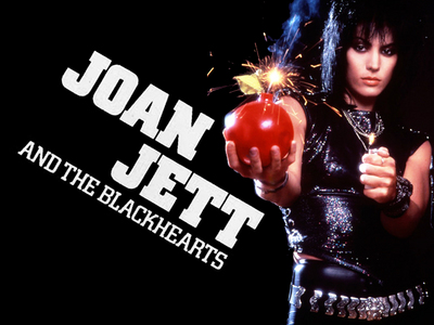 Joan Jett. Yes I have a thing for older women. Shut it. XD