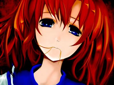 Rena from Higurashi.