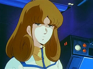 Lisa Hayes from Robotech (don't know the name of her Macross counterpart)