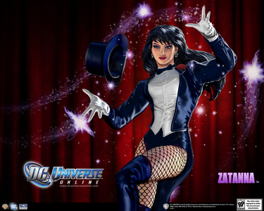 ^I can try. XD Zatanna from Dc comics.