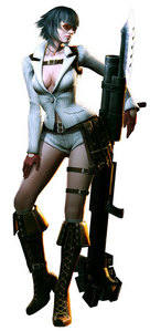 And here's Lady's desain from Devil May Cry 4.