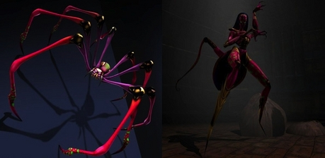If anda thought that Blackarachnia was sexy in Beast Wars, just take a look at her desain in Beast Mac