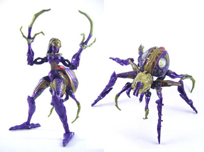 Another toy image. Why couldn't Beast Machines Blackarachnia be one of the few transformers toys I ha