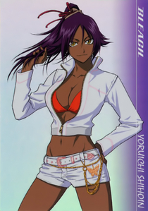 I haven't seen alot of Bleach but I like Rangiku but I kinda prefer Orihime atau Yoruichi atau some of th
