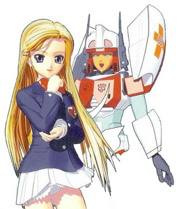 Minerva from Super-God Masterforce. Is it weird that I find her robot form más attractive than her h