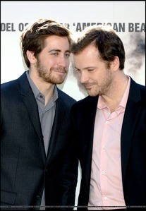 here's mine next:jake gyllenhaal with his sis