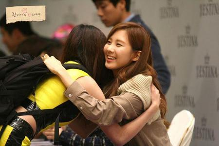 ahh..cute pic<br /> here<br /> next : seohyun for Jestina