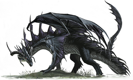 Skorn's Dragon form
