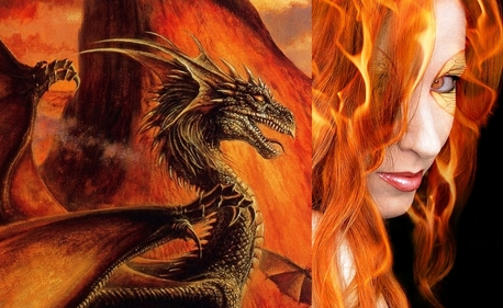 Name: Gaea Age: appears to be around 23 Race: Fire Dragon Other: Named for the Greek goddess personif