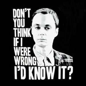 Day 1 - Favourite male character<br />  <br /> Gotta be Sheldon!<br /> <br />