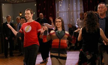 Day 5: Favourite couple<br /> <br /> Sheldon and Amy