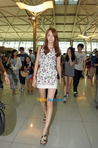 yoona at incheon airport
