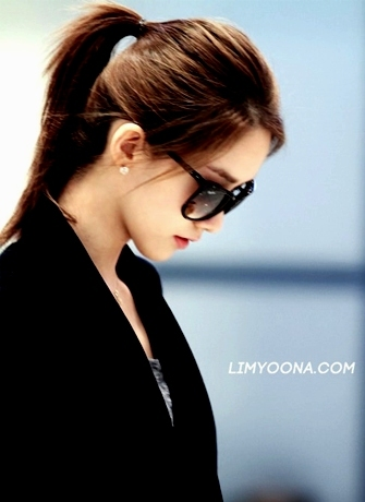 Yoona at airport