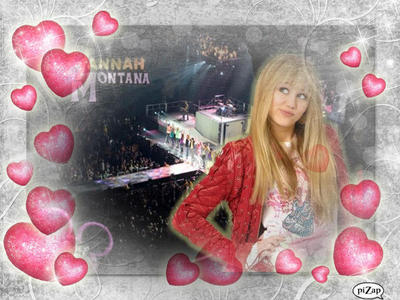 1 me creation with HANNAH MONTANA