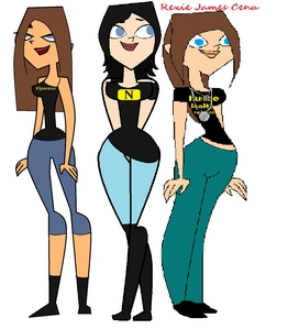 name:Rexie Cena, Charlie Barrett, Amy Orton age:16, 17, 18 clique:the chaingang princess, the Briti