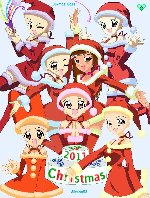 Christmas Base (Human Collab.) - Fans of PoM - Fanpop