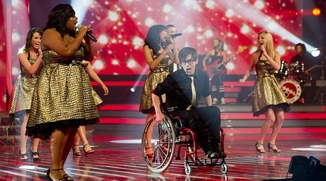 X-Factor performance of Glee