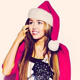 luv u miles happy miley christmas - Miley Cyrus Christmas