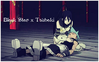 Black★Star and Tsubaki!!!!!!! Tsu★Star FTW!!!! =D