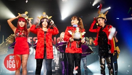 "379.""Their(2ne1's) ""crowns"" looked like the kind you can get at Burger King with a Kids Meal"