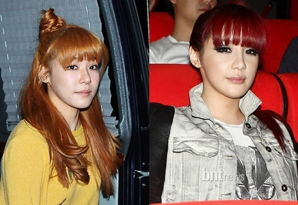 "421.""Coming from a Sone…Tiffany & Bom look alike, which is probably why Bom is the only member I li"