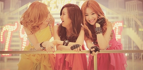 "434.""I used to hate SNSD, but when it's just these three(TaeTiSeo) it's different. They actually"