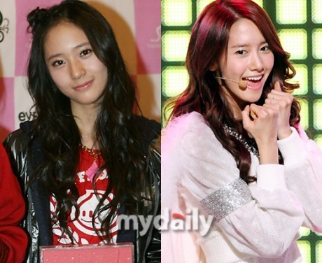"579.""f(x) Krystal, EXO Luhan and SNSD Yoona shoul create a deer line or something. Someone should wri"