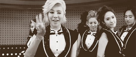 """667.""""Some people like SNSD but hate Sones, in my case, I don't care much for SNSD but I love Sones."""
