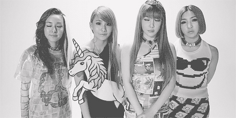 """697.""""Is it really that hard for people to love and respect every member of 2NE1. For gods sake would"""