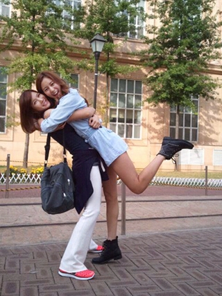 """701.""""I finally understand how K-pop fans can ship a couple. I ship Uee and Jung-Ah from After School."""