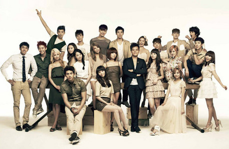 "966.""I am a JYP Stan, I love the relationship between fandoms seems like are always supporting each o"