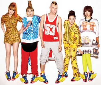 "1013.""Why do they(2ne1) wear this. His designs are horrible. After arguing with people I decided to t"