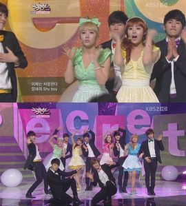 "1176.""I feel like SECRET and INFINITE has more chemistry than INFINITE and APINK."""