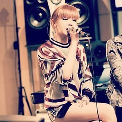 "1205.""Bom is my idol. She's so sweet, kind, funny, strange and talented. To top it all off, she's"