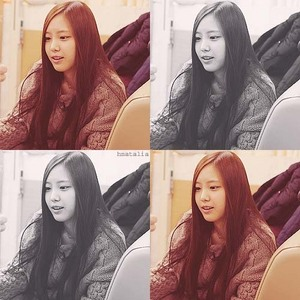 "1300.""Naeun, the visual of A Pink. Sometime people piss me of when they say that Eunji should be the"