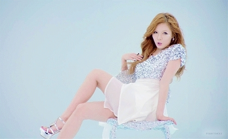 "1303.""I confess that I love Hyuna's version  of GANGHAM STYLE. It's one of those guilty summer so"