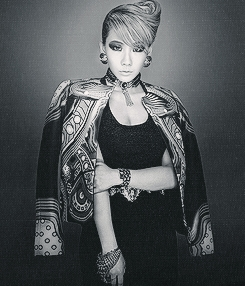 "1380.""So it's okay when CL just wears a bra as a top but when other girl idols wears it… Some peo"