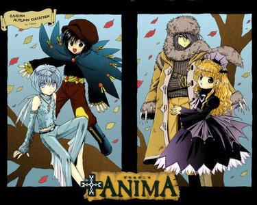 The +anima gang<br /> <br /> Husky, Cooro, Senri, Nana