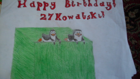 Happy birthday, 27Kowalski!!! 8D