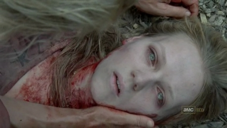 [b]6. Best survivor death so far? Why? [/b] Amy's. The whole where she turned into a walker and Andre
