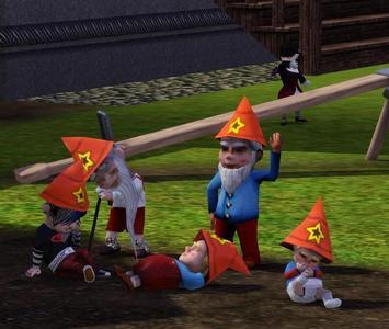Magical gnomes....  I say terrific, you think?
