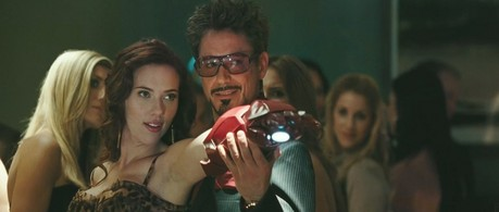Natasha with Tony. I say Iron Man, u think?