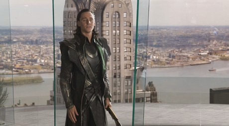 Loki, Tom, whatever. I say superhuman strength, u think?