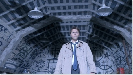 <i>&quot;Castiel with wings!&quot;</i> :)