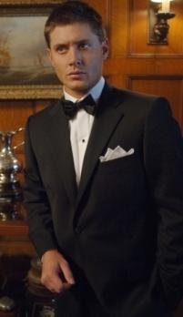 Dean Winchester in a tux