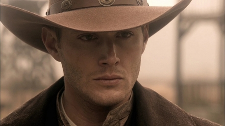 "hahah that was going to be my susunod one XD ""[i]Dean with a cowboy hat[/i]"""