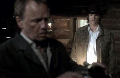 """Sam Winchester with Samuel Colt"""