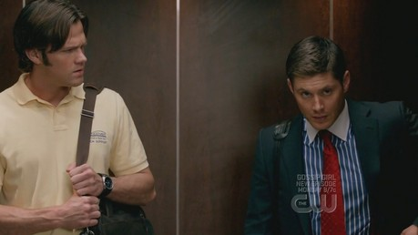 """[i]Smith and Wesson in the elevator[/i]"""